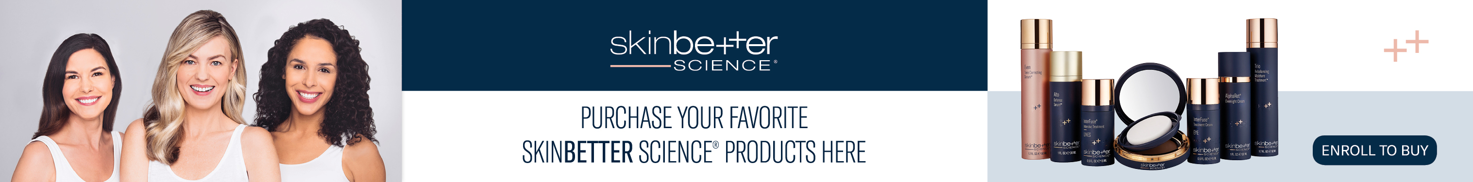 Shop skinbetter products